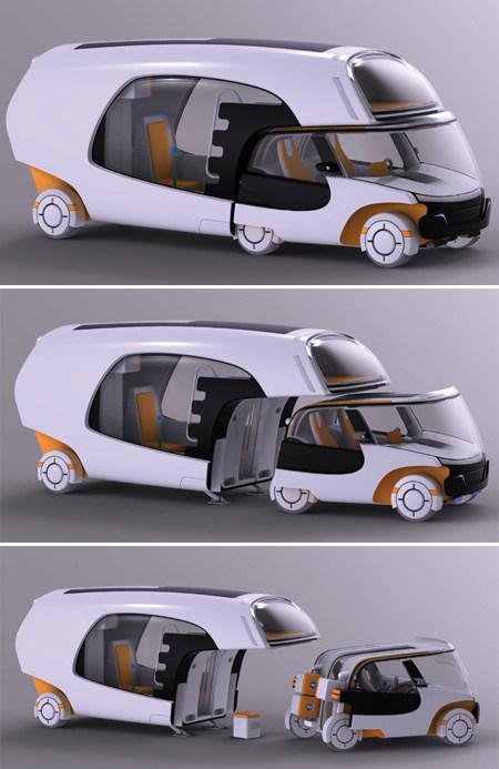 'COLIM' – La autocaravana concepto con coche