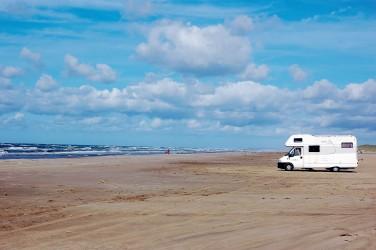 Disfruta de mar y arena en la costa oeste de Jylland.