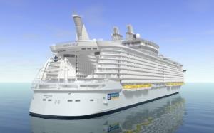 Hoy se bota el supercrucero monstruo Oasis of the Seas
