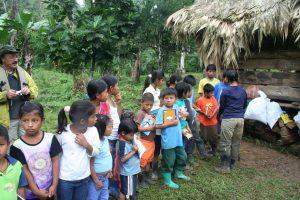 Hacer turismo entre indígenas