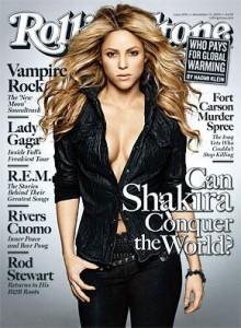 Shakira en la revista Rolling Stone