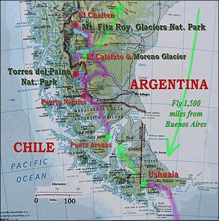 PatagoniaRoute