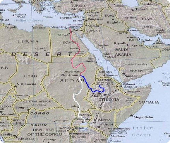 River_Nile_route