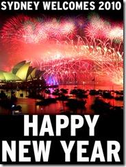 Año Nuevo: 2010 empieza a llegar
