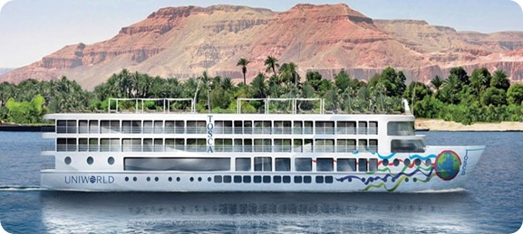Choque de ferries en el Nilo