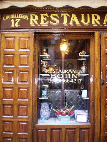 Restaurantes maestros en madrid el rastreador de noticias for Casa botin madrid