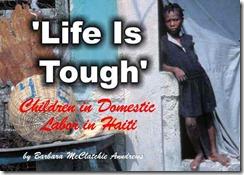 Crece en Haití el número de niños esclavos
