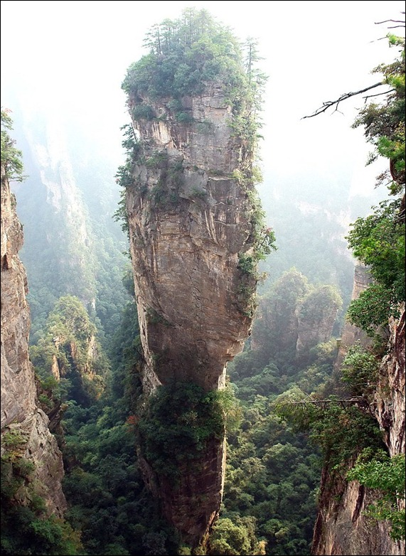 'Southern Sky Column' in China,  'Avatar Hallelujah Mountain'