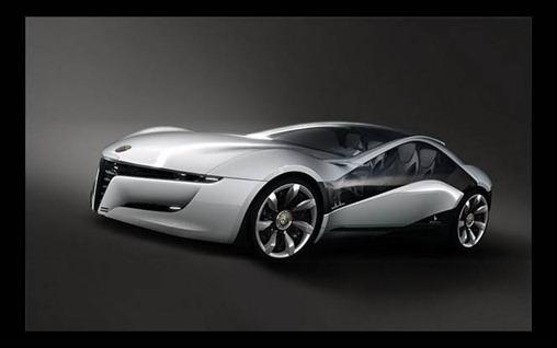 Alfa celebra con coche concepto
