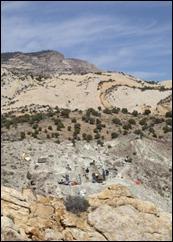 Fossilene ble oppdaget i Dinosaur National Monument i Øst-Utah