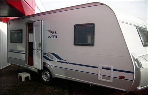 Wilk S 3 450 HTD Wohnwagen
