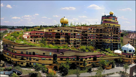 Hundertwasser Building - Germany
