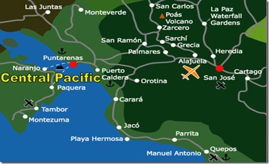 PuntarenasMap