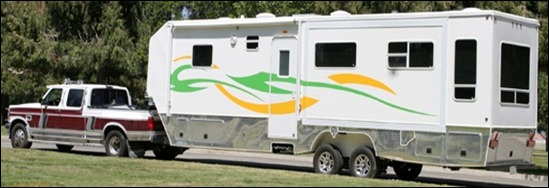 AMER Sequoyah Model Fifth Wheel