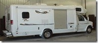 BORN 27' Wide Body, Rear Door Mobility RV