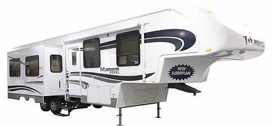 GLEN titanium-fifth-wheel