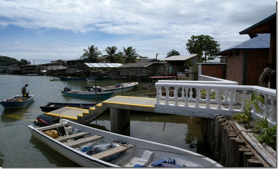 """The """"harbour"""" of Nuqui"""