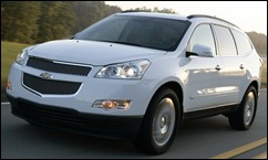 2009_chevy_traverse front_three_quarters_view