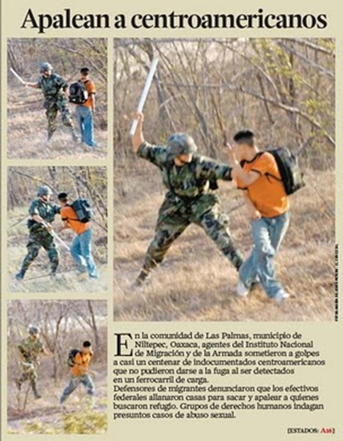 Centroamericanos Golpeados