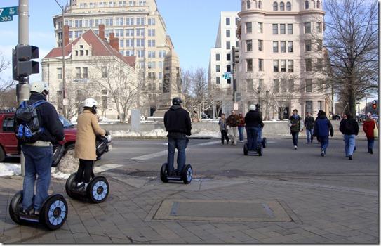 Segway tour at Washington DC