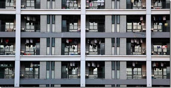 Foxconn-bloques de dormitorios