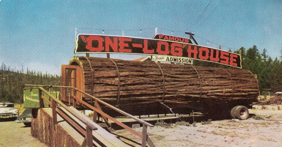 log_house_redwood_tree
