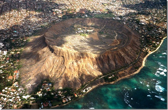 Diamond-Head-volcanic-crater
