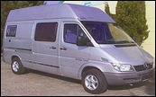 K VW LT MB Sprinter mR SCA 411ig