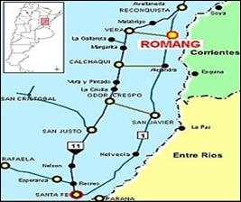 Romang-Mapa