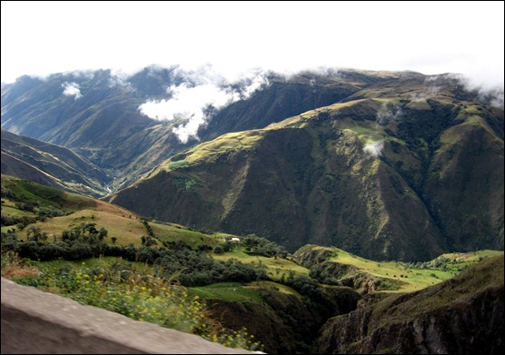 Valle del río Cáraba, Páramo de Santurbán, municipio de Silos, Norte de Santander