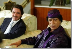 aznar-gaddafi