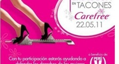 Carrera tacones altos V Day