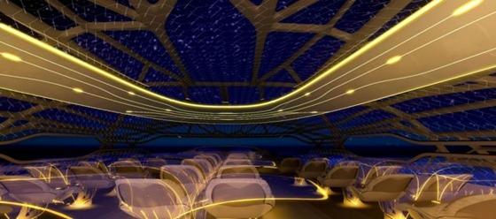 Airbus presentó el avión del futuro