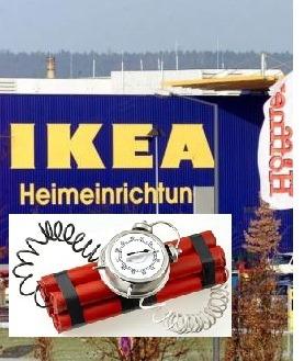 explosi n en tienda de ikea alemana el rastreador de. Black Bedroom Furniture Sets. Home Design Ideas