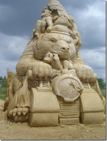 Festival Internacional de Esculturas de Arena