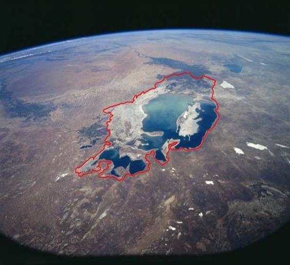 Mar de Aral antes y ahora