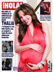 Thalía fue demandada por haberse embarazado