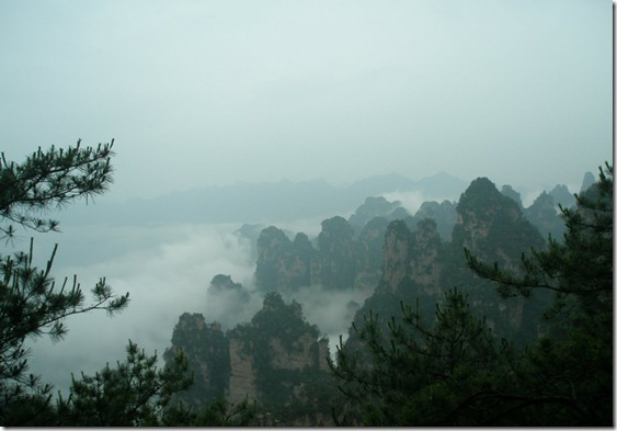 Zhangjiajie, precioso legado de la naturaleza