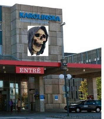Demasiados pocos muertos en el Hospital Karolinska