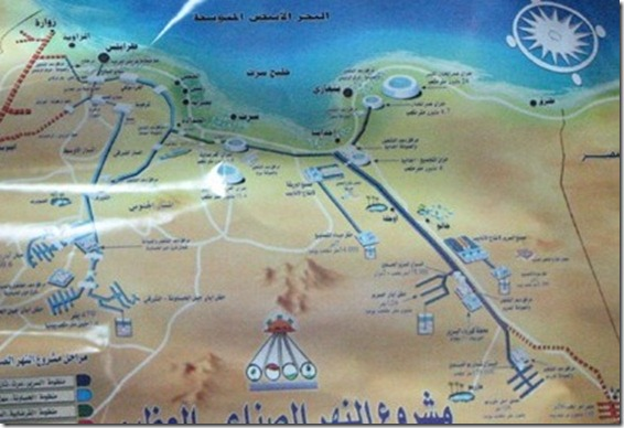 libya's man made river project