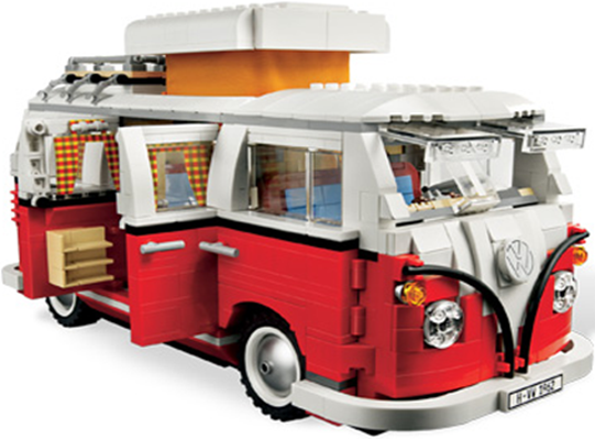 lego resucita el microb s de volkswagen el rastreador de noticias. Black Bedroom Furniture Sets. Home Design Ideas