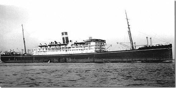 British Steam Ship Mantola