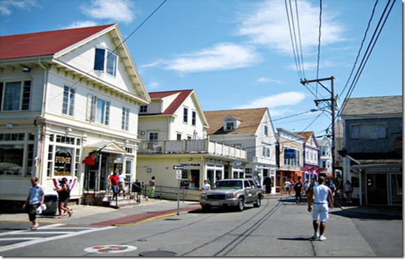 Commerical Street Provincetown