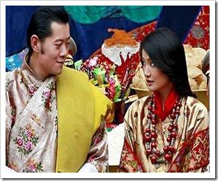 King Jigme Khesar Namgyel Wangchuck - Ashi Jetsun Pema Wangchuck -bhutan