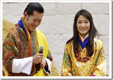 King Jigme Khesar Namgyel Wangchuck - Ashi Jetsun Pema Wangchuck