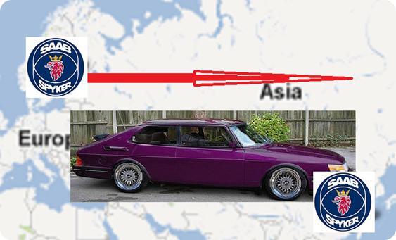 Saab será china – por 100 millones de euros