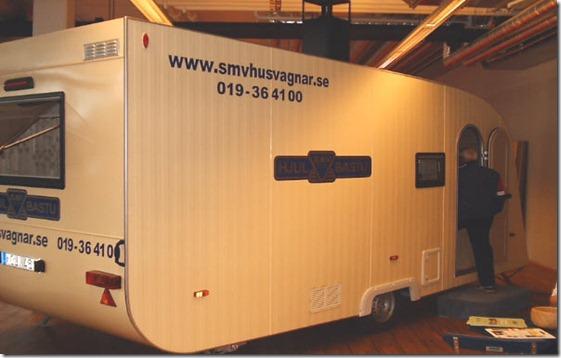 smv caravana sauna