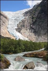Briksdalsbreen_glacier