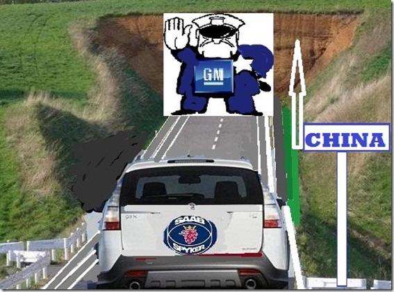 GM dice no al negocio de China de Saab