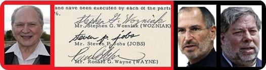Ronald Wayne y su error millardario